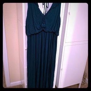 Jade Green Loft Maxi Dress